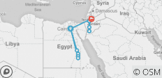 12-Day Best of Egypt & Jordan Tour - 13 destinations