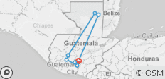 The Best Of Guatemala 8 Day  - 8 destinations