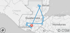 Mayan Expedition Tour 11 Day - 11 destinations