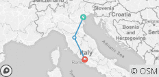 Italy Gran Tour by Rail: Venice, Florence & Rome  - 3 destinations