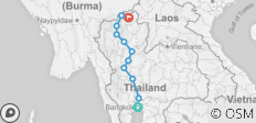 Northern Thailand Rural - Bangkok to Chiang Rai Bike Tour - 11 destinations