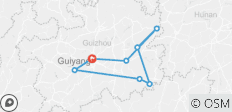 Explore Guizhou Province 9 Days - 8 destinations