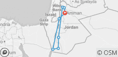 Best of Jordan in 3 Days - 8 destinations