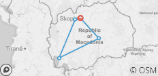 Skopje city break + Ohrid & wine tasting - 5 destinations