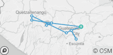 Guatemala Volcanoes - 11 destinations