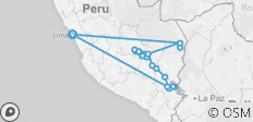 Classic Peru  (09 Days/08 Nights) - 26 destinations
