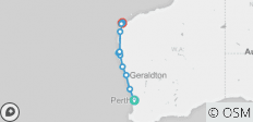 5 Day Perth to Exmouth Cruiser : One Way - 12 destinations