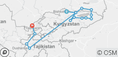 Best of Kyrgyzstan and Tajikistan - 14 destinations