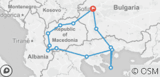Ancient Macedonia - 13 destinations