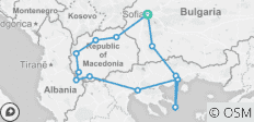 Ancient Macedonia (2019) - 13 destinations