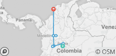 Highlights of Colombia - 9 destinations