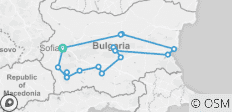 Best of Bulgaria - 16 destinations