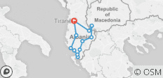 Cycle Albania - 12 destinations