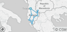 Cycle Albania (2019) - 12 destinations