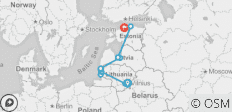 Cycling the Baltic States (from Vilnius to Tallinn) - 10 destinations