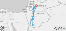 Cycle Jordan (2019) - 8 destinations