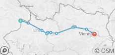 Self-Guided Danube Cycling - Passau to Vienna (from Passau to Vienna) - 11 destinations