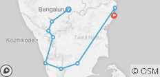South Indian Images (from Bangalore to Mamallapuram) - 9 destinations