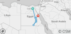 Nile Cruise + Red Sea Extension (2019) - 14 destinations