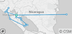 Family Active Nicaragua (2019 Reverse) - 20 destinations