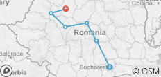 Highlights of Romania - 7 destinations