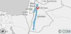 Spice Trails of Jordan - 9 destinations
