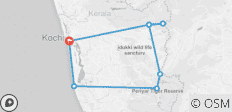 On Foot in Kerala - 8 destinations