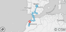 Spain & Morocco  (Madrid to Casablanca) - 13 destinations