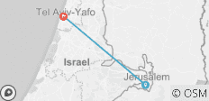 Essential Israel & the Palestinian Territories - 2 destinations