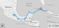 Epic Mexico & Cuba - 18 destinations