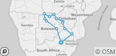 Real Southern Africa - 13 destinations