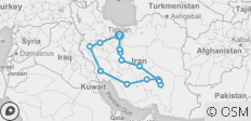 Around the Persia in 3 weeks - 14 destinations