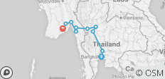Cycle Bangkok to Rangoon (2019) - 10 destinations
