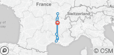 8-days Lyon-Chalon-Arles-Lyon - 10 destinations