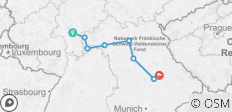 Germany\'s Finest (Frankfurt to Regensburg, 2019) - 8 destinations