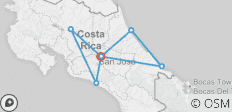 Costa Rica Encompassed - 7 destinations