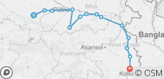 The Upper Ganges River (from Varanasi to Disembarkation) - 14 destinations