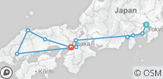 Classic Japan with Matsue and Osaka 2019 - 10 destinations