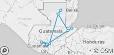 Guatemala Experience - 12 destinations