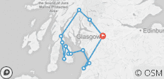 3-Day Isle of Arran Adventure Small-Group Tour from Glasgow - 13 destinations