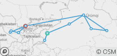 Silk Road Travel to China and Uzbekistan - 13 destinations