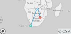 Rivers & Rails of Africa 2020 (from Cape Town to Johannesburg) - 5 destinations
