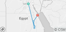 Exquisite Egypt- Cairo & Nile Cruise & The Red Sea Hard All Inclusive  - 5 destinations