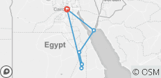 Luxury Cairo, Nile Cruise and Sharm El Sheikh Holiday - 6 destinations