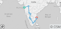 South India Art & Archeology Tour - 10 destinations