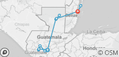 Guatemala und Belize Rundreise - 12 Destinationen