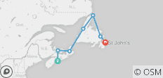 Nova Scotia & Newfoundland Expedition - 7 destinations