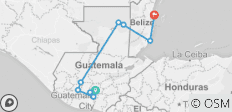 Best Of Guatemala And Belize Tour 12 Day - 9 destinations
