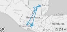 Guatemala, Between Lakes and Volcanoes - 17 destinations