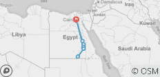 "14 Days Treasure of Egypt Tour ""Private tour\"" - 8 destinations"